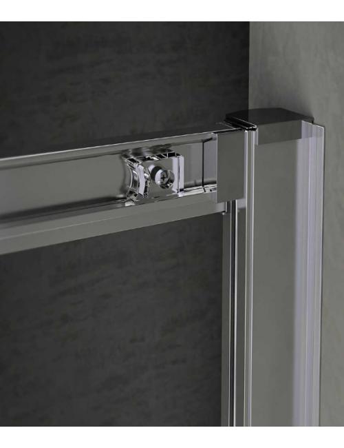 Box doccia semicircolare 90x90 cristallo Trasparente 6mm RAINBOX